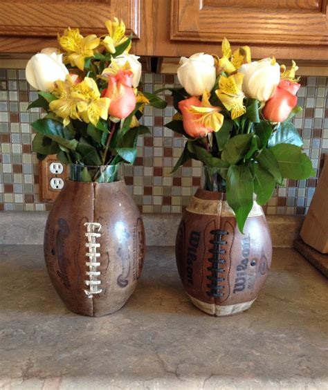 football banquet centerpieces football banquet coaches table center pieces craft