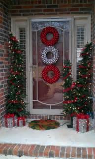 Outdoor Christmas Decorations Ideas Porch Beautiful Outdoor Christmas Porch Decoration Ideas