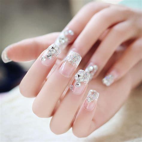 imagenes de uñas decoradas transparentes compra u 241 as postizas 3d online al por mayor de china