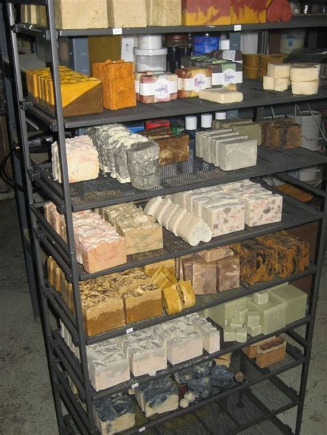 soap drying rack workshop display ideas pinterest