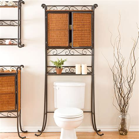 Rattan Bathroom Furniture Wicker Bathroom Furniture Accessories Home Decor