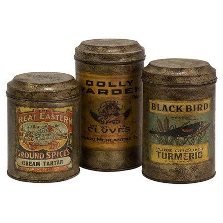fashioned kitchen canisters 3 canister set at joss and kitchen pantry vintage style