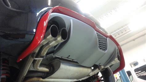 abarth 500 rear diffuser extension