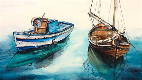 paintings of boats on water paintings of boats on water www pixshark images