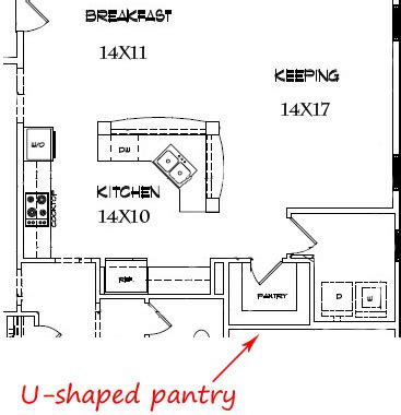 Pantry Sizes by Most Popular Kitchen Plans Quot Costco Quot Style Walk In Pantries