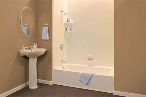 how to install a acrylic bathtub acrylic tub surround installation cost md washington dc n va