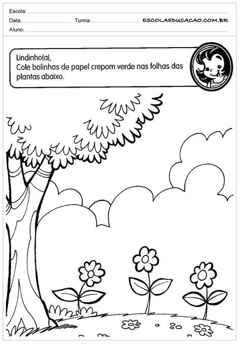 Atividades Meio Ambiente Educação Infantil - Cole Bolinhas