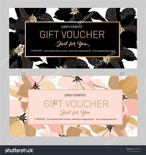 Gift Premium Certificate Gift Card Gift Voucher Coupon Template Background For The Gift Coupon Template