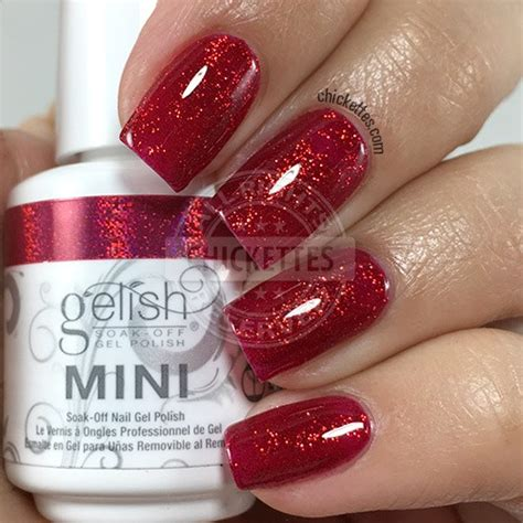 Gossipy Goodness by Harmony Gelish Swatch Gallery Chickettes Soak Gel