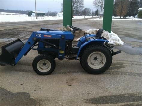 1988 mitsubishi 372 tractors compact 1 40hp