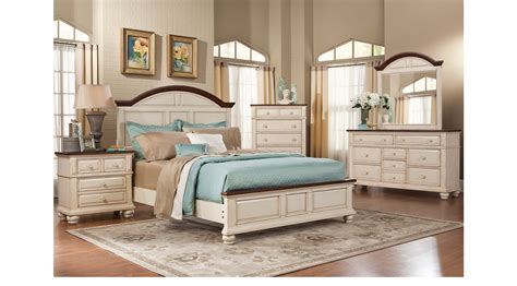 5 pc queen bedroom set berkshire lake white 5 pc queen panel bedroom casual