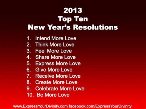 top 10 motivation message for new year wishes top ten 2013 new year s resolutions daily inspirations for healthy living