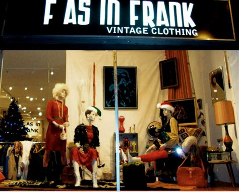 vintage clothing at vancouver store by fasinfrankvintageca