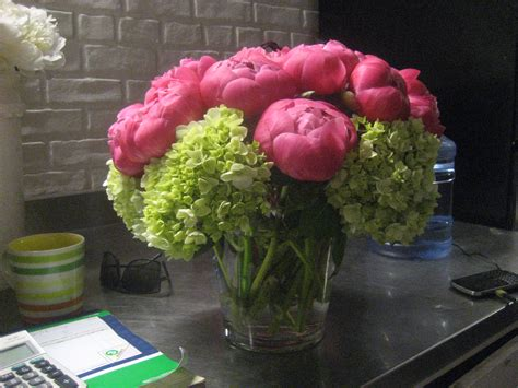 Flowers Arranging - peony flower arrangements viewing gallery