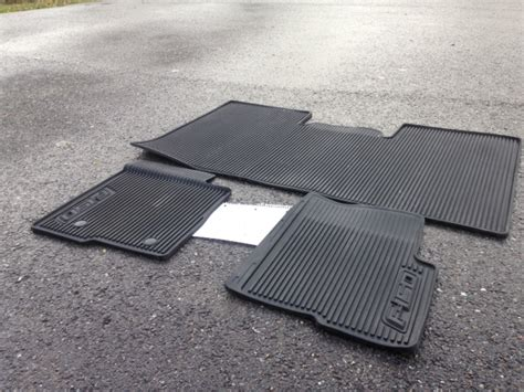 Ford F150 Supercrew Floor Mats by Northwest Ford Oem All Weather Floor Mats Supercrew