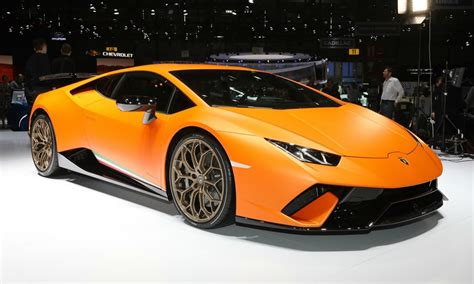 Information About Lamborghini 10 Amazing Facts About The Lamborghini Huracan Performante
