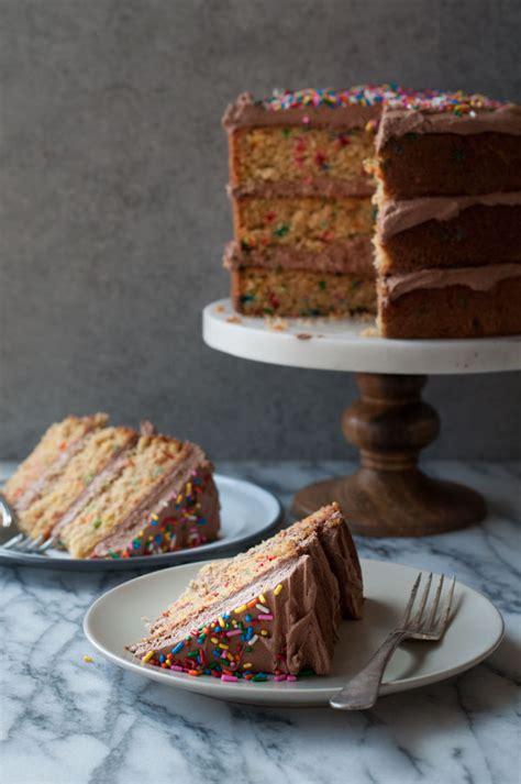 perfect yellow birthday cake recipe amanda frederickson