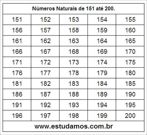 A 195 179 S 198 161 Mi G 195 A R 225 186 187 n 250 meros naturais de 151 at 233 200 atividade on line de