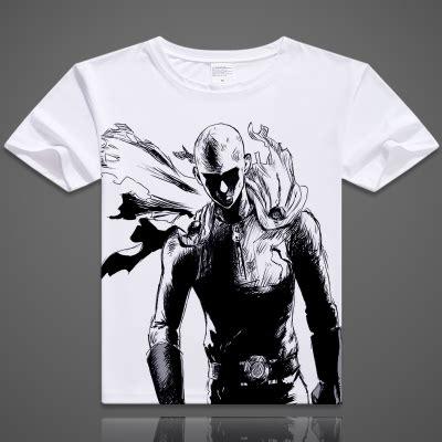 aliexpress buy one punch t shirt anime genos saitama t shirts fashion