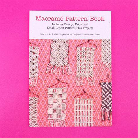 Macrame Pattern Books - macrame pattern book craft company