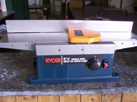 bench top jointer lot 77c ryobi 6 1 8 quot variable speed bench top jointer