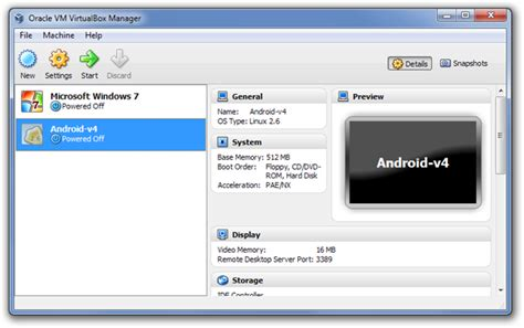 tutorial oracle vm virtualbox manager how to run android 4 0 ics on windows mac linux using