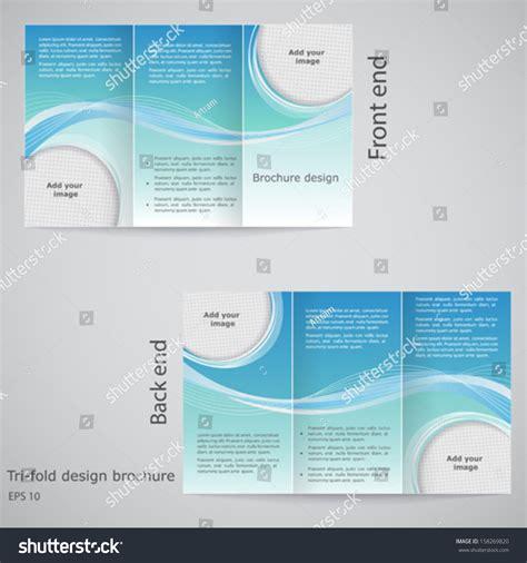 tri fold brochure templates indesign illustrator publisher word