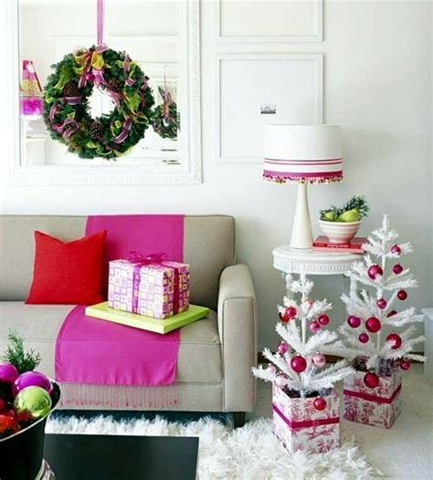 ideas for decorating the living room for christmas