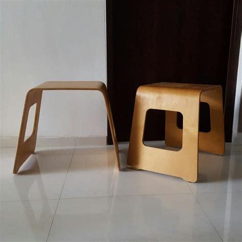 ikea frosta stool singapore ikea benjamin stool hack furniture on carousell