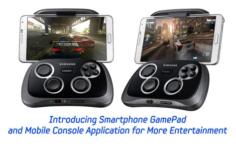 mobile console introducing smartphone gamepad and mobile console