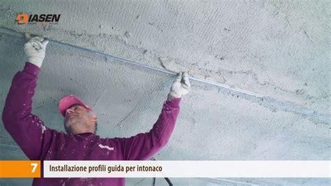 intonaco soffitto diathonite acoustix applicazione a soffitto