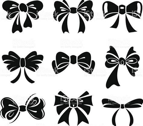 black bow clip art vector graphics 6791 black bow eps conjunto de la 231 o vetor e ilustra 231 227 o royalty free 149295359