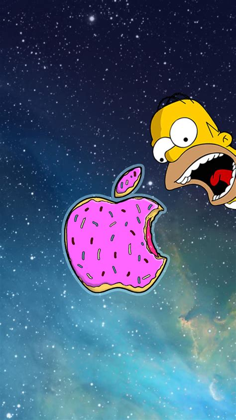 Wallpaper Iphone 5 Simpsons | homer simpson wallpaper for iphones get high quality