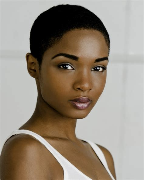 boycut hairstyle for blackwomen low haircuts for black women boy cut short black women