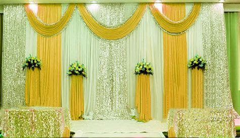 10'X10' Pleated Wedding Backdrop Curtain Background Decor