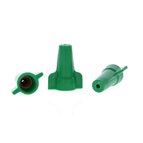 ideal greenie grounding wire connectors 92 green 100 per