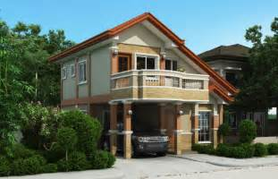 Two Story Home Two Story Home Design With Balcony Design Architecture