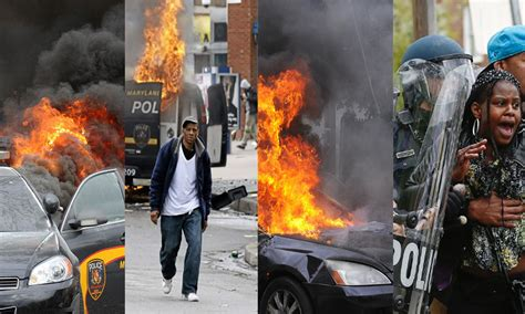 How The Media Covered The How The Media Covered The Baltimore Riots American Journalism Review
