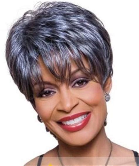 gray hair pieces for african american women gray hair pieces for black women short hairstyle 2013