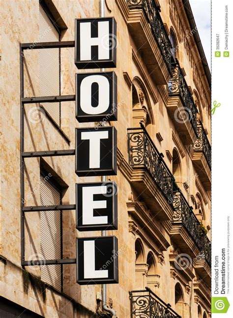 hotel sign vertical royalty free stock photography image 35282647