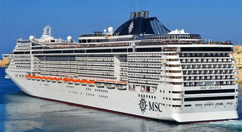 msc to schedule msc divina itinerary schedule current position