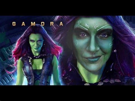 Makeup Di Guardian guardians of the galaxy gamora transformation zoe