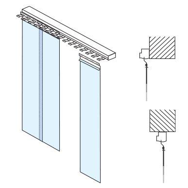 strisce pvc per porte kopron porte a strisce in pvc
