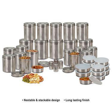 buy kitchen queen 70 pcs buy kitchen queen 70 pcs stainless steel storage set