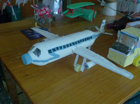 Como Hacer Un Avion De Material Reciclable | como hacer un avi 243 n con material reciclable imagui