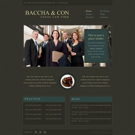website templates for law firms ready legal law firm website template free website