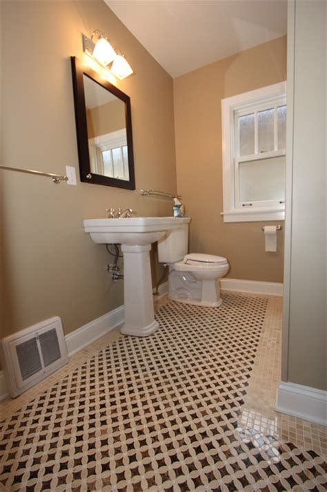 north california avenue bungalow bathroom remodel traditional bathroom chicago by design