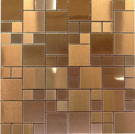 copper bathroom tiles w36 modular copper stainless steel glass mosaic