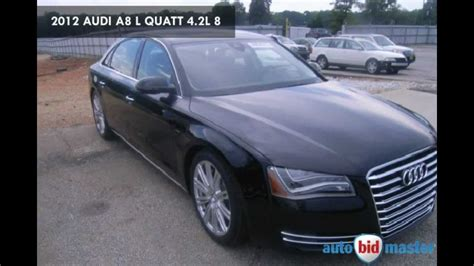 Salvage Audi by Audi Salvage Car Auction 2012