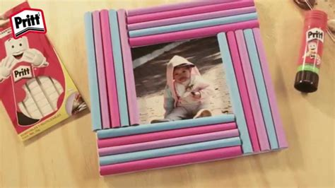 como hacer portaretratos de carton manualidades de papel portaretratos youtube